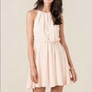 Francesca's Blush Flawless Dress